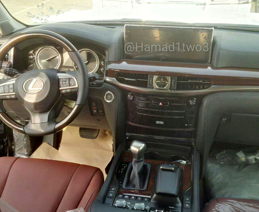 Lexus LX 2016 Interior Center Stack
