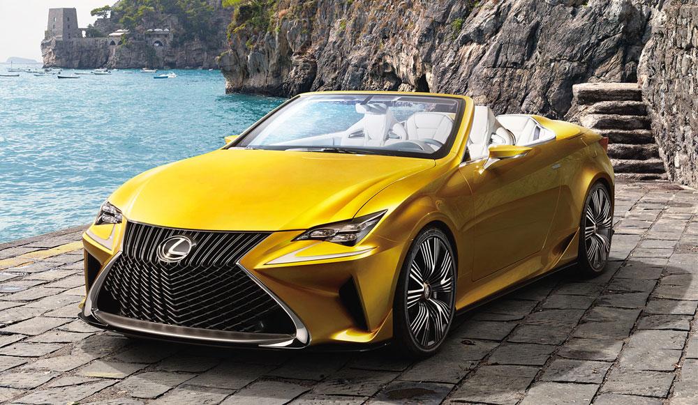 Lexus Lf C2 Concept Rc Convertible