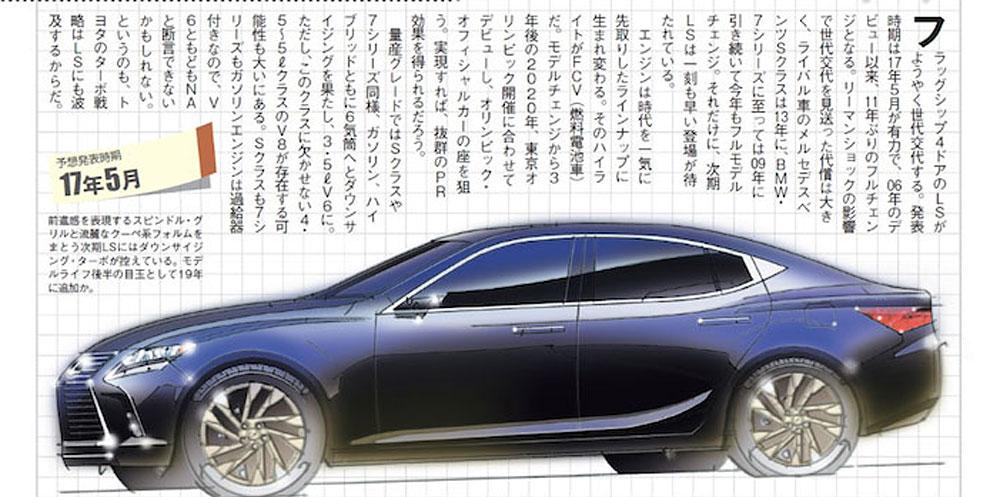 Lexus LS 250t