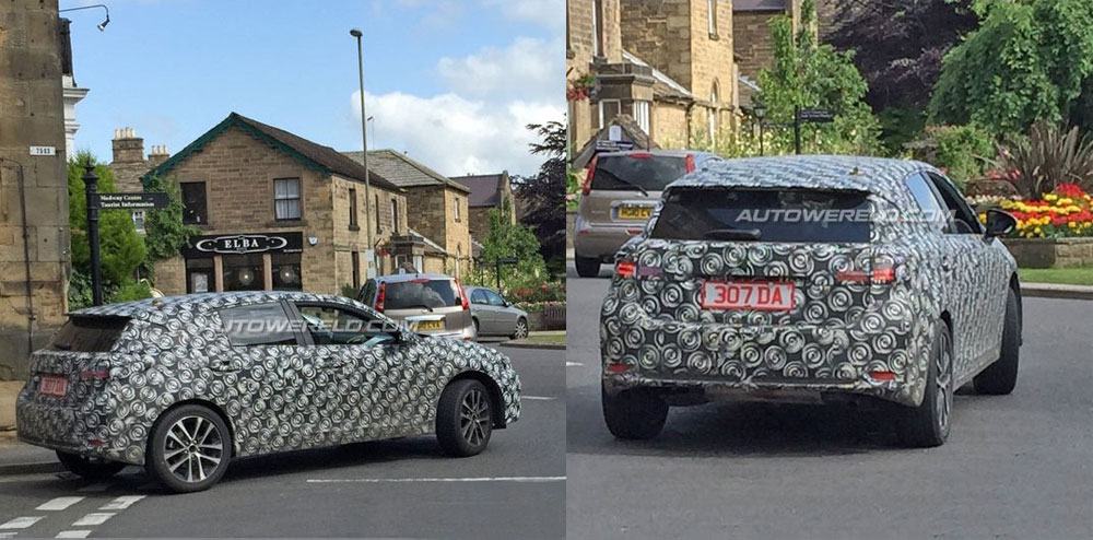Lexus CT Next-Generation Spy Shot