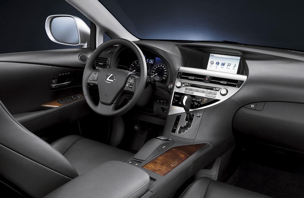 Lexus RX Interior Development