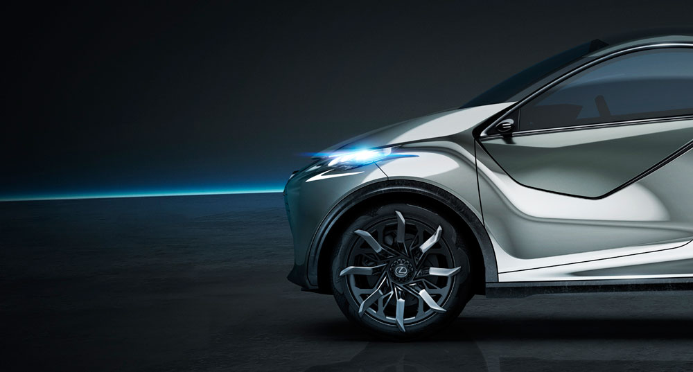 Lexus LF-SA Future of Lexus