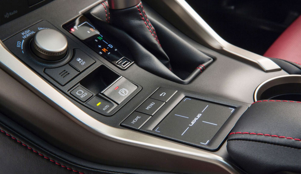 Lexus RTI Touchpad