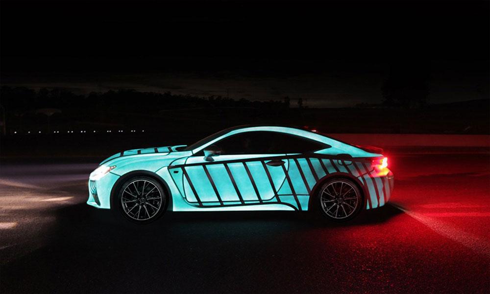 Lexus RC F Electroluminescent