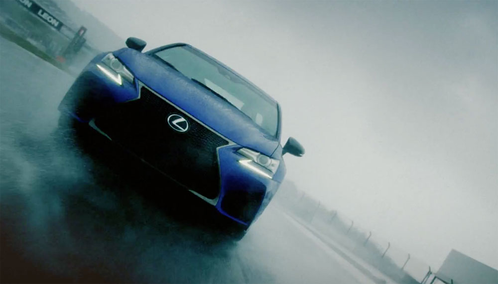 Lexus GS F Video