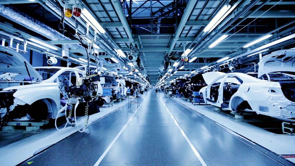 Lexus ES 350 Manufacturing