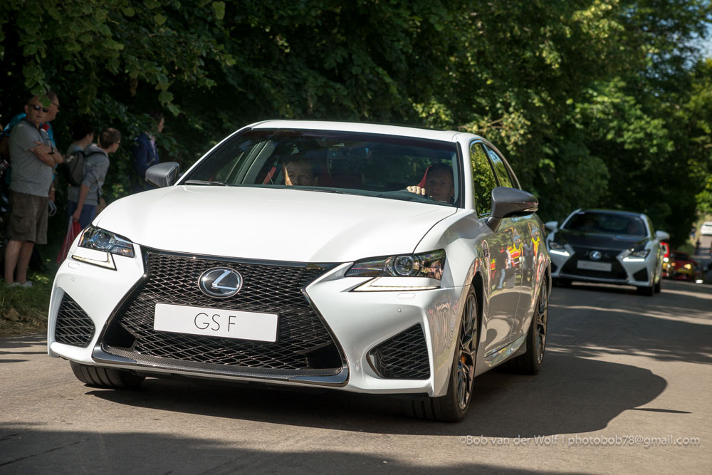 Lexus GS F Goodwood Photos