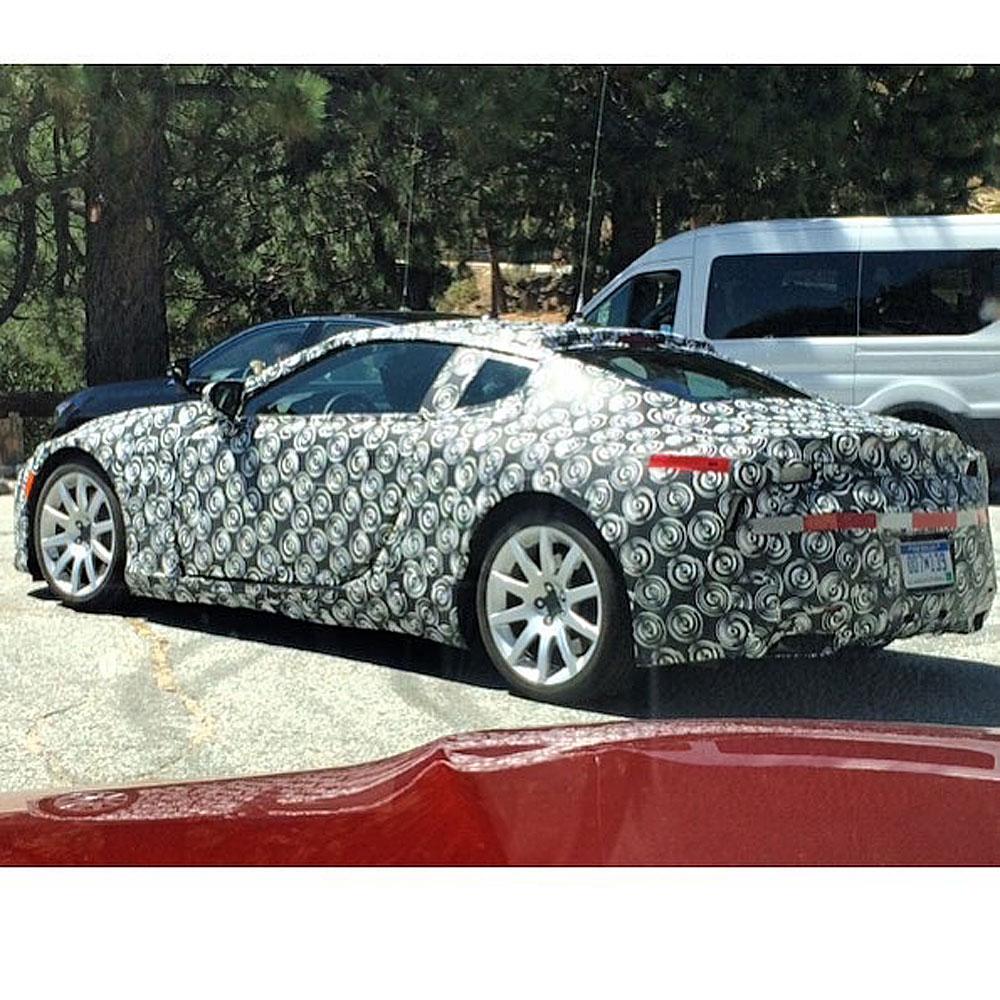 Lexus LF-LC Production Prototype 1