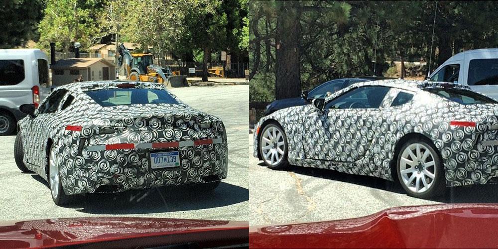 Lexus LF-LC Production Prototype