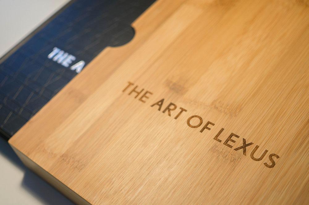 lexus art of lexus. Black Bedroom Furniture Sets. Home Design Ideas
