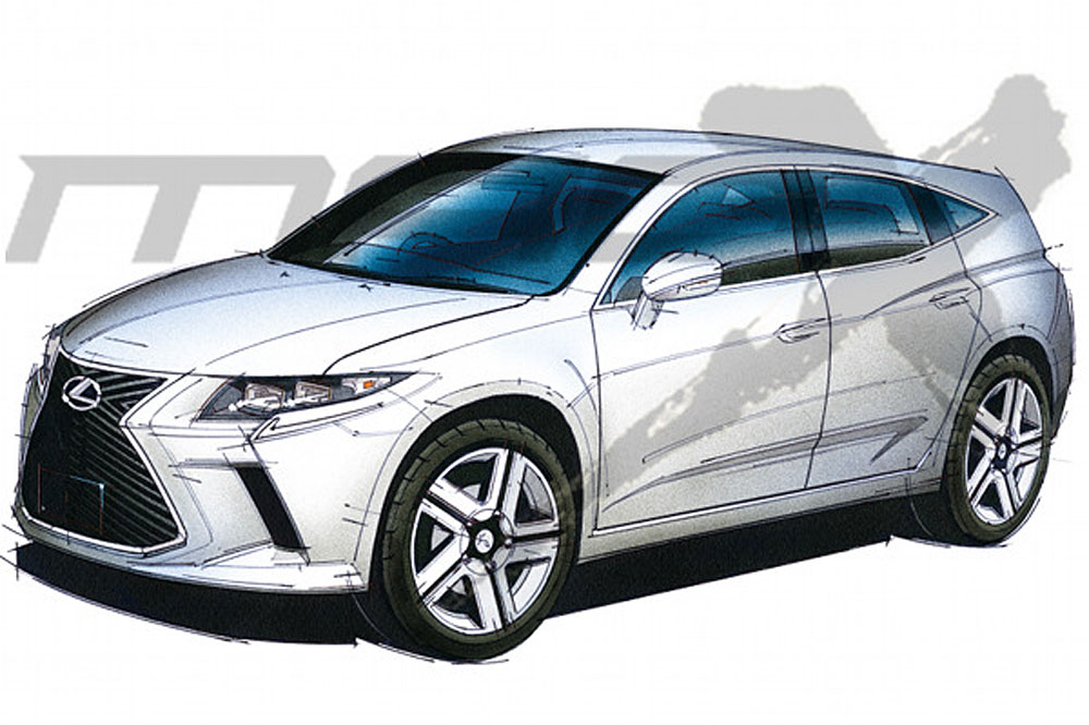 Lexus CT Next-Generation Sketch