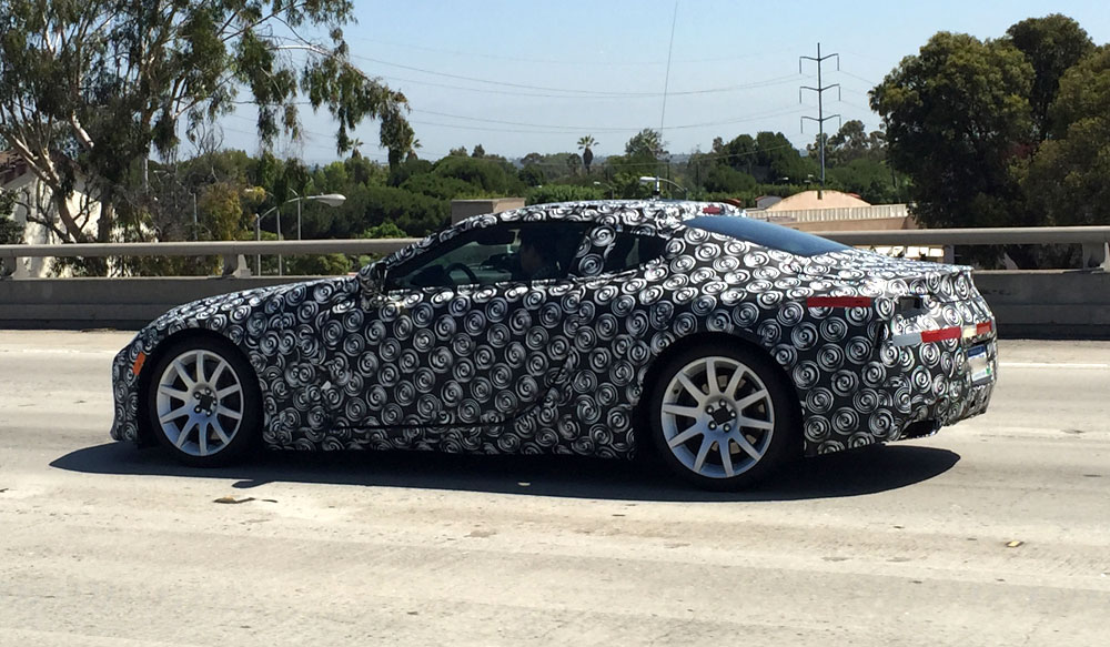 Lexus LF-LC Prototype Spotted Again