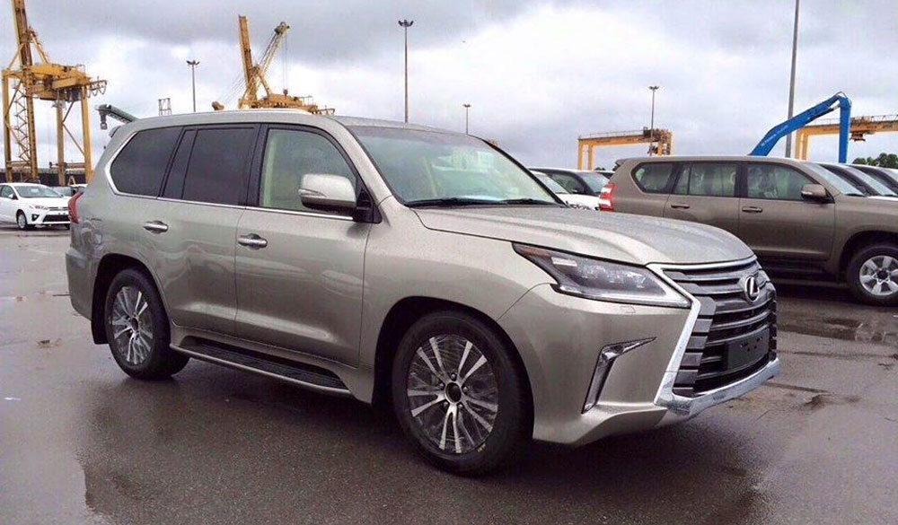 Lexus LX 2016 Revealed