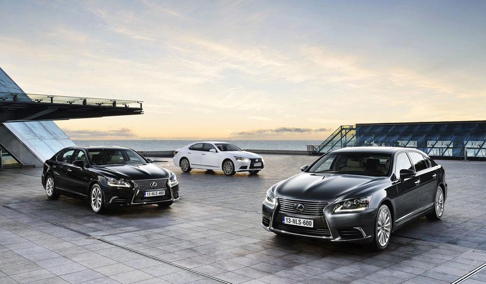 Lexus LS Models
