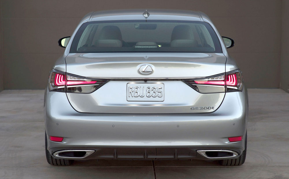 Lexus 2016 GS Rear