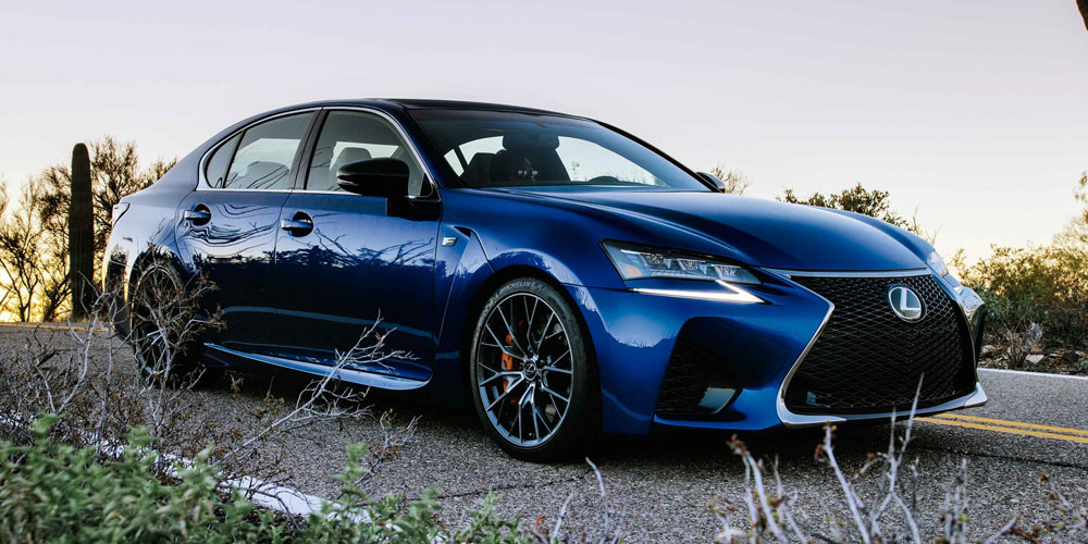 Lexus GS F BEYOND Magazine