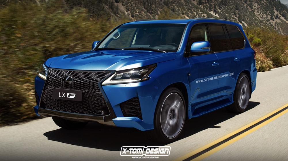 Lexus Lx F Rendering