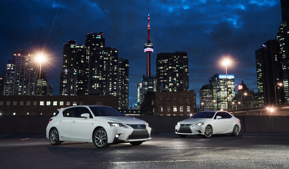 Lexus CT F SPORT Owners Blog: A Photoshoot in Toronto