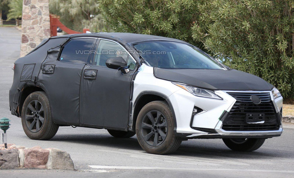 Lexus has trademarked the RX 350L nameplate in Europe, suggesting that ...