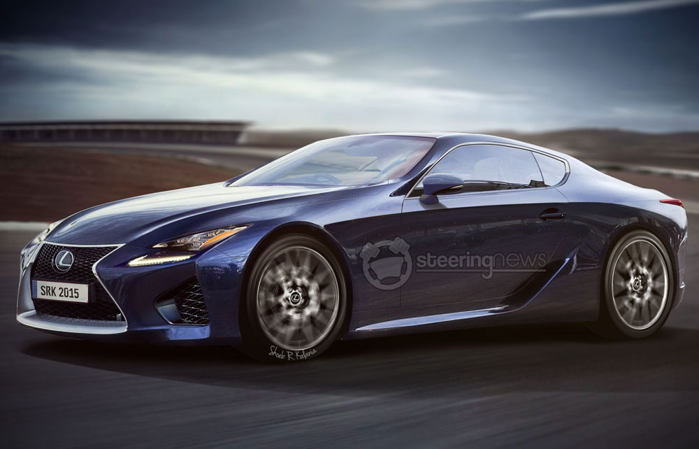 Lexus LF-LC Steering News Render
