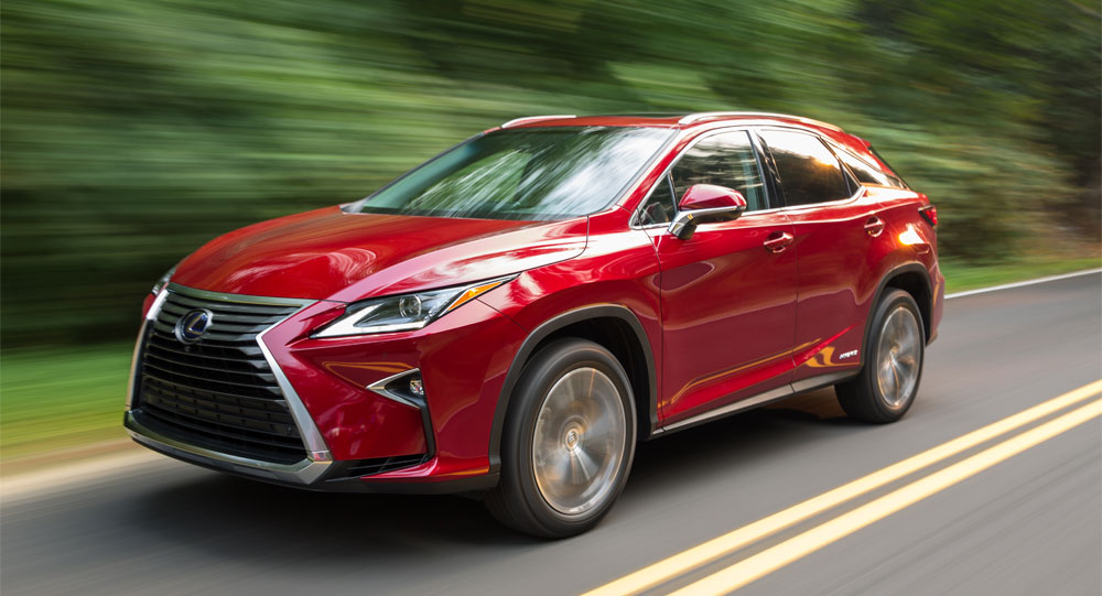 Lexus RX 450h Photo Gallery