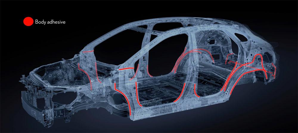 Lexus RX Body Adhesive