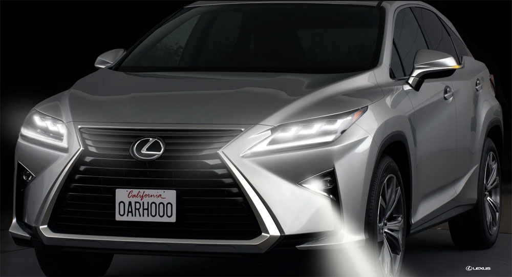 Lexus RX Cornering Lamps