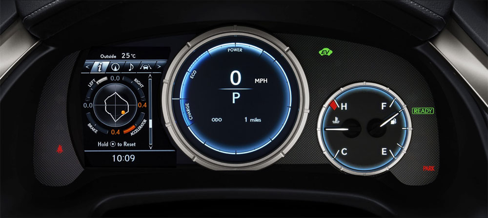 Lexus RX Instrument Panel