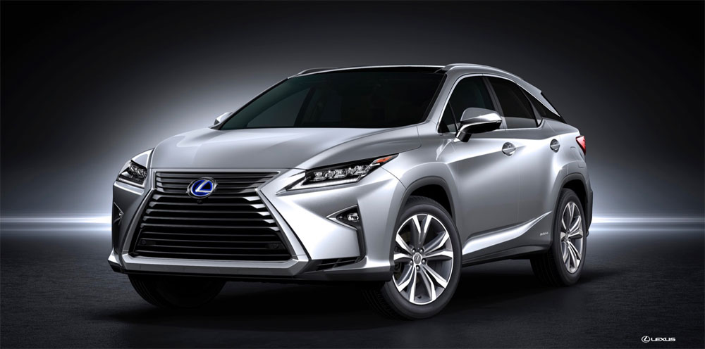 2016 Lexus RX Front