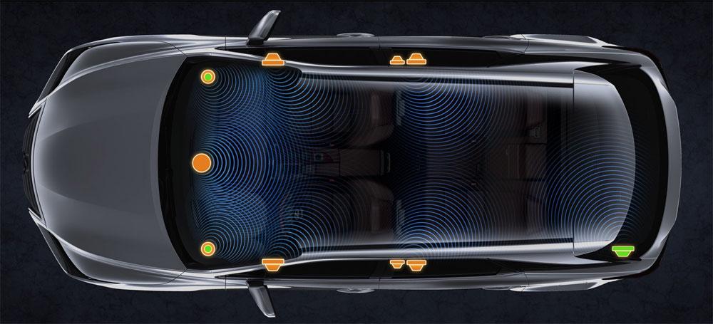 Lexus RX Pioneer System
