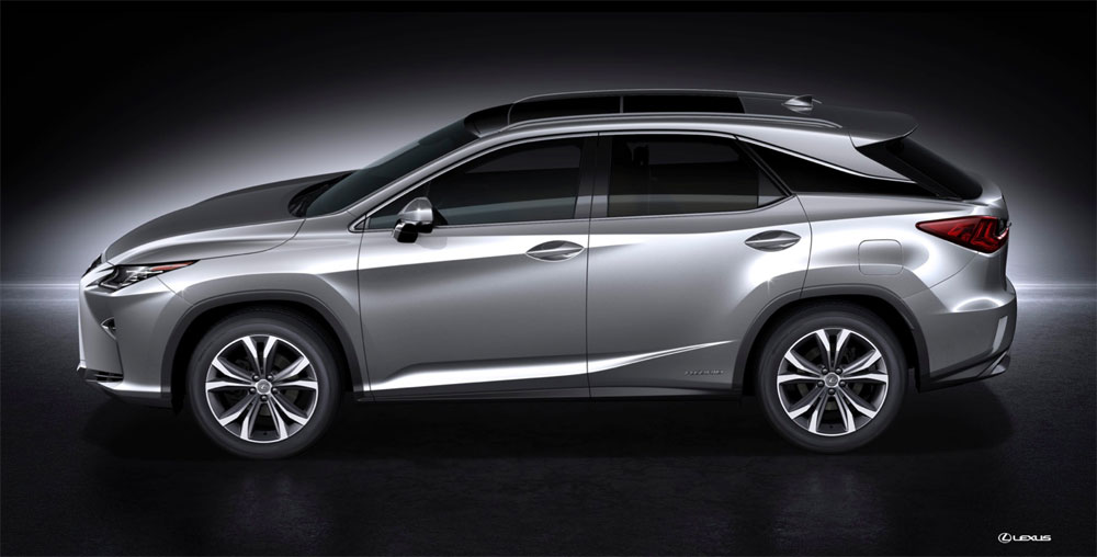 Lexus RX 2016 Side Profile