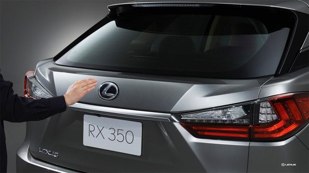 Lexus RX Touch Free Door