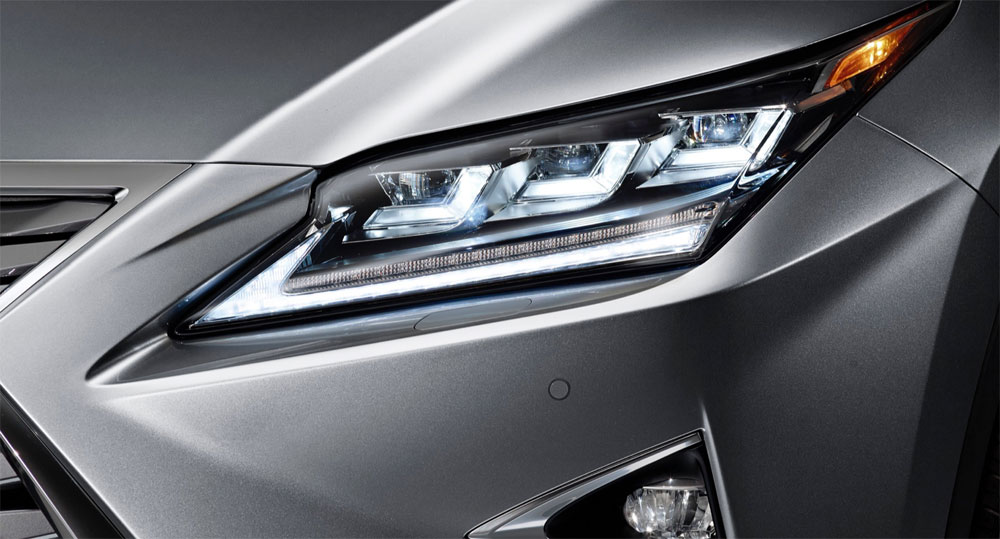 Lexus RX Triple Beam Headlights