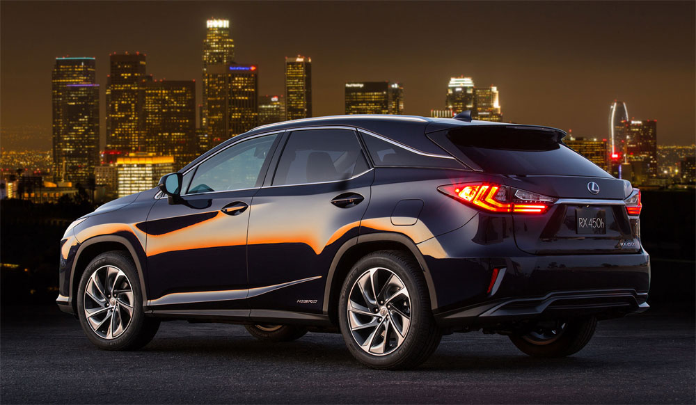 Lexus RX Three-Row Crossover