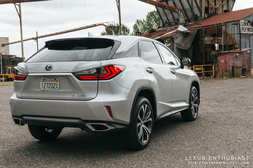 Lexus RX Rear Door