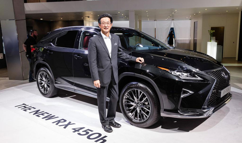 Lexus RX Takayuki Katsuda