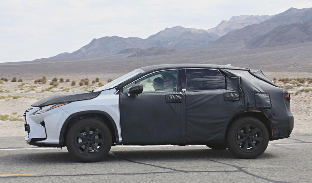 Lexus RX Mystery prototype