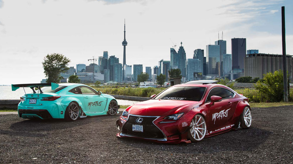 Lexus RC F Rocket Bunny Kit