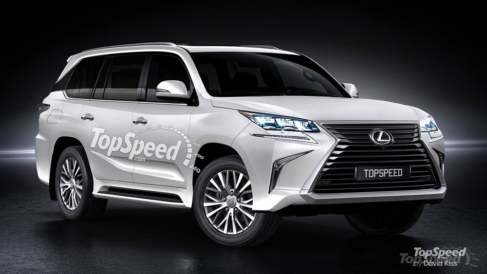 Lexus 3 Row Suv >> A Different Interpretation Of The Lexus Three Row Crossover