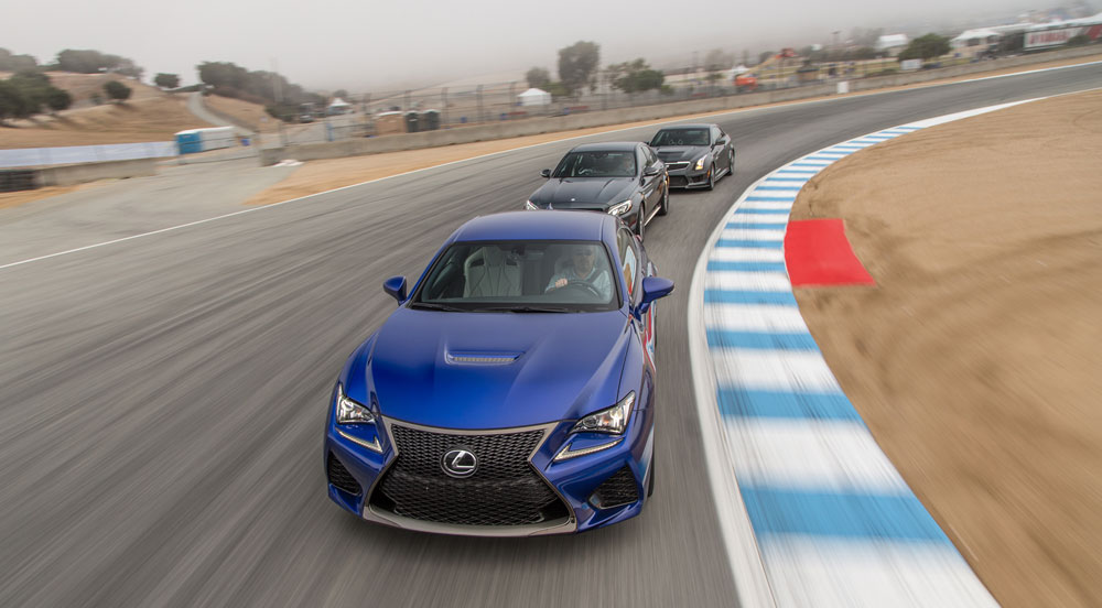 Lexus RC F Motor Trend Best Drivers Car