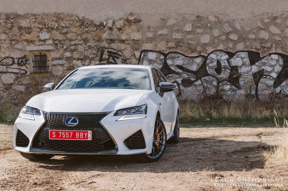 Lexus GS F Front