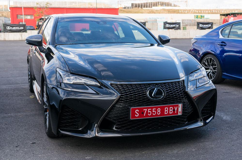 Lexus GS F Graphite Black