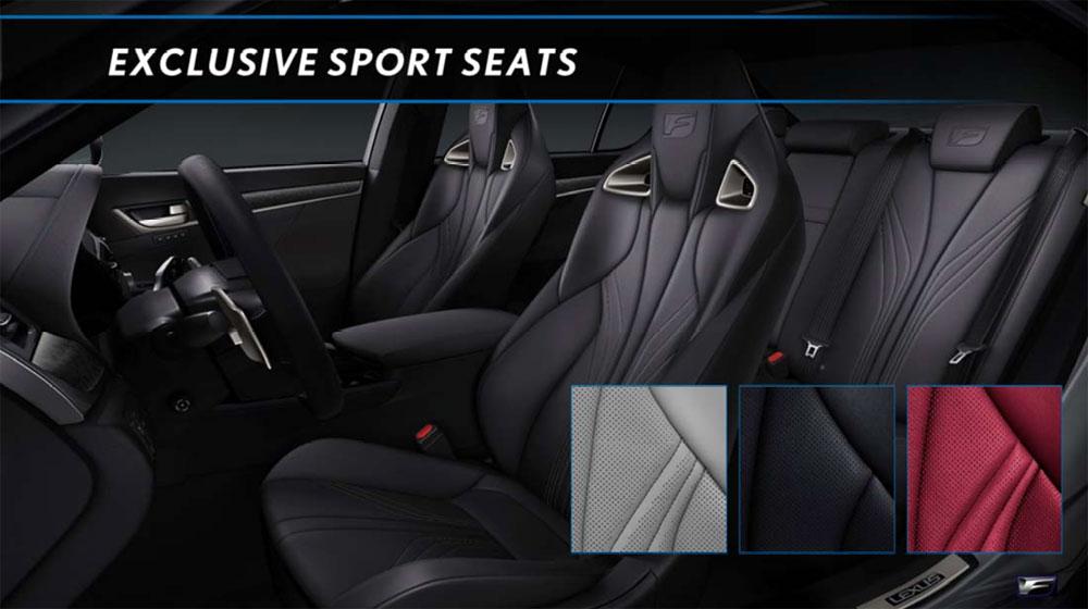 Lexus GS F Interior Colors