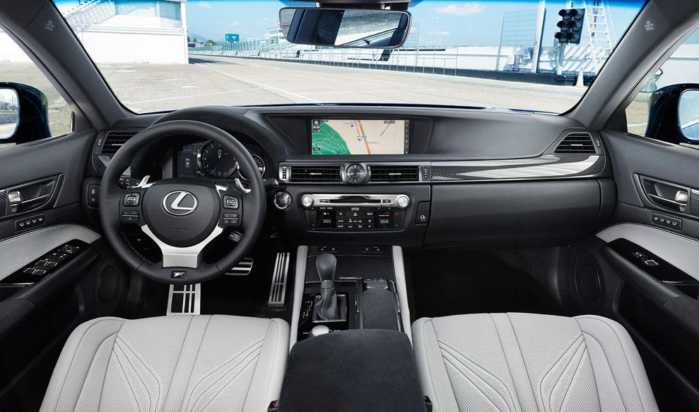 Lexus GS F Interior Shot