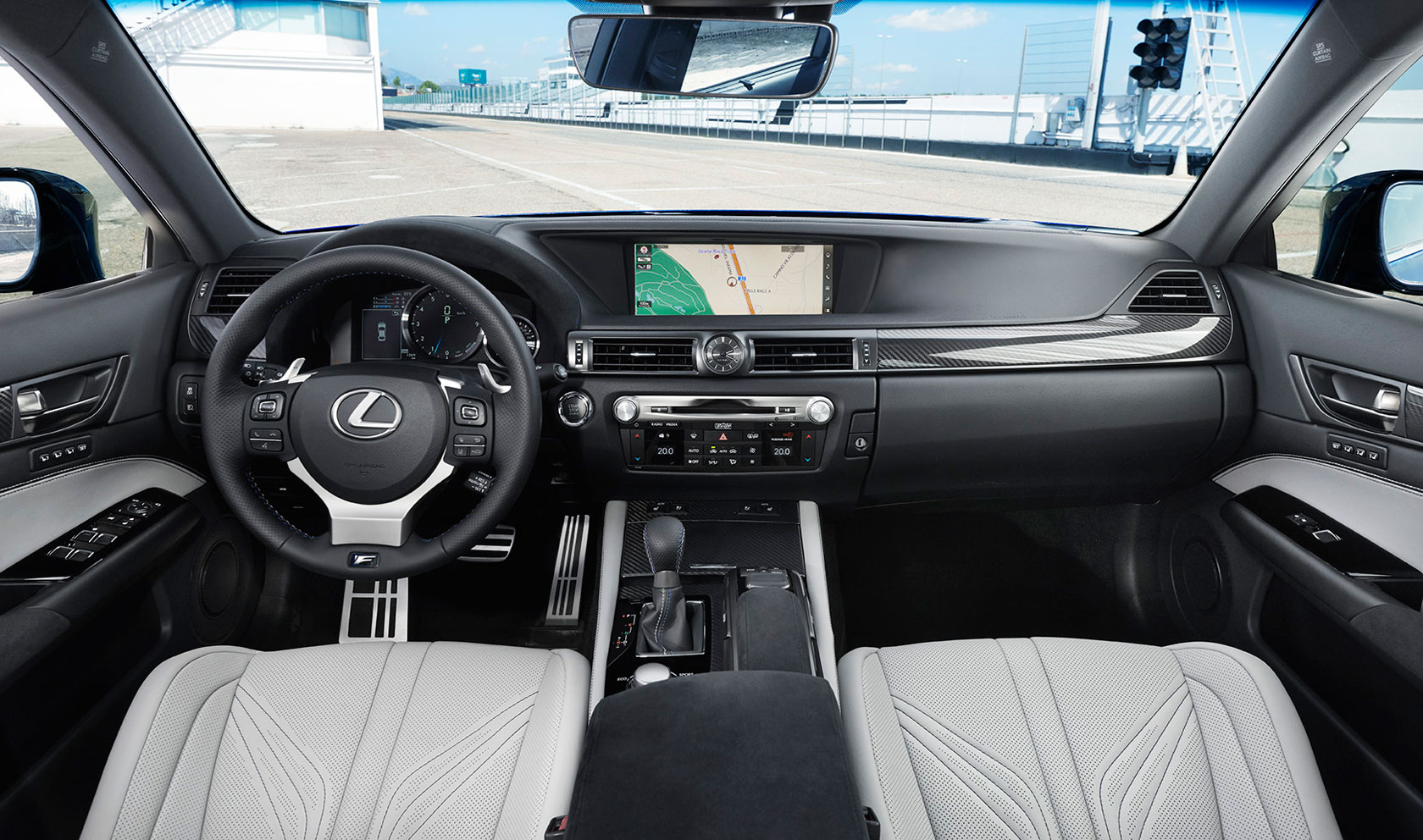 Lexus GS F Interior Shot