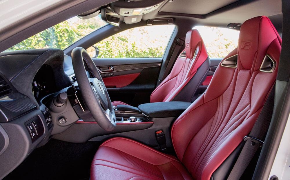 Lexus GS F Seats