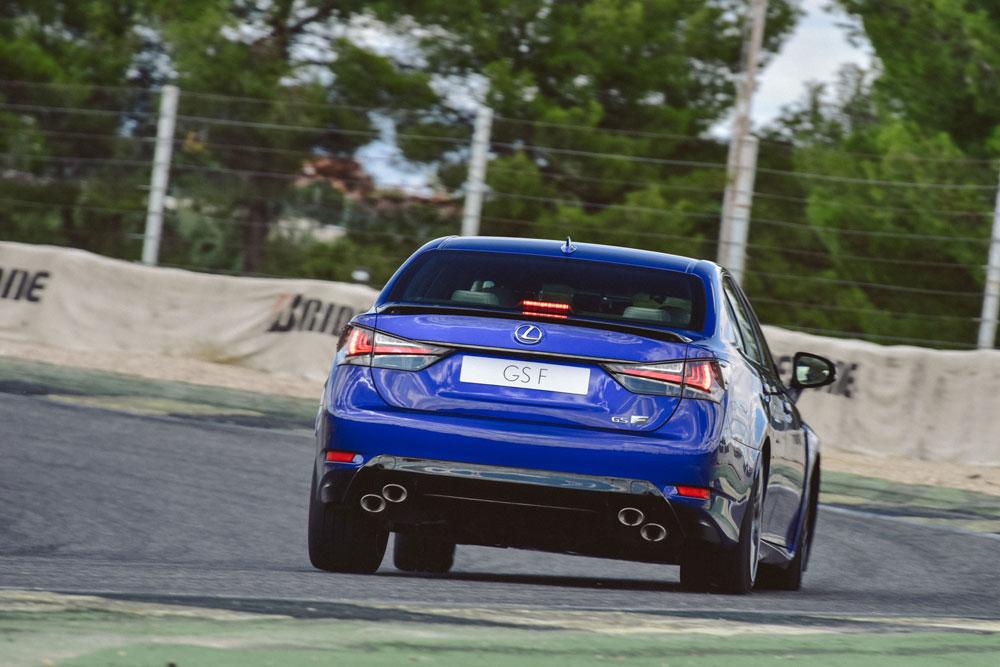 Lexus GS F Track 2