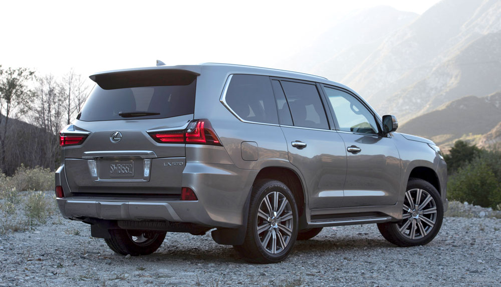 Lexus Lx 570 Named Full Size Luxury Suv Of Texas In