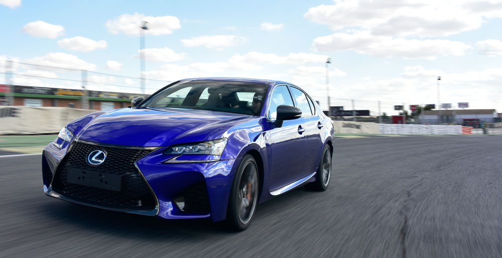 Lexus GS F Spain Jarama