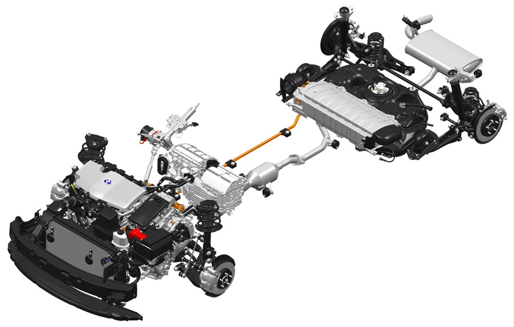 Lexus Toyota Prius Hybrid System